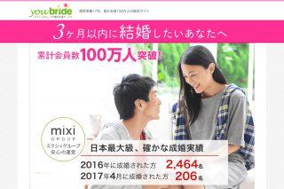 ユーブライドとは?婚活に特化したマッチングアプリを徹底解析!