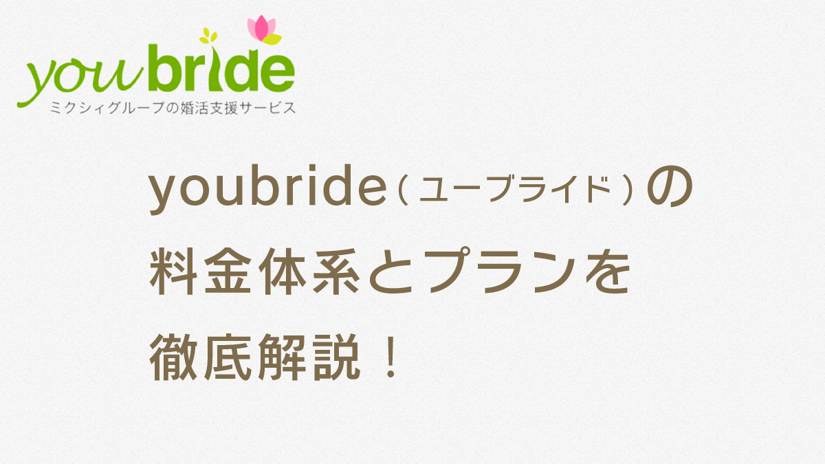 youbride-fee-structure